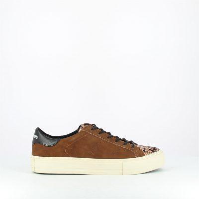 no name-arcade sneaker-marron-cuir