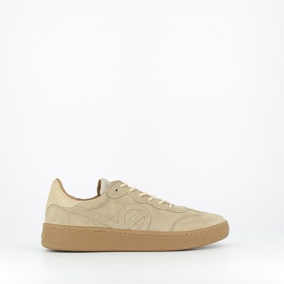 no name-game sneaker-beige-cuir vachette