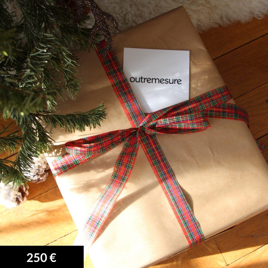 Carte cadeau 250 €