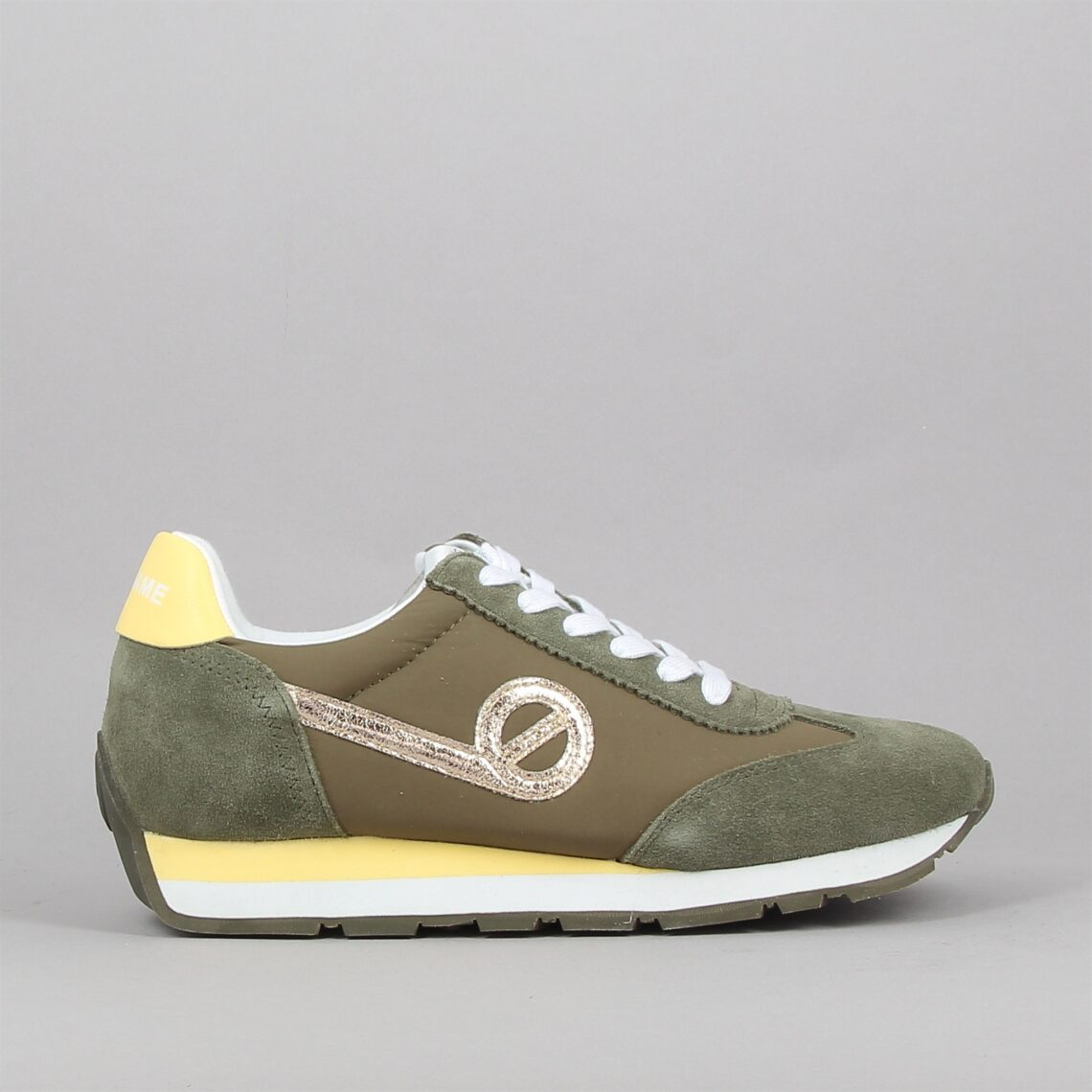 city run jogger suede